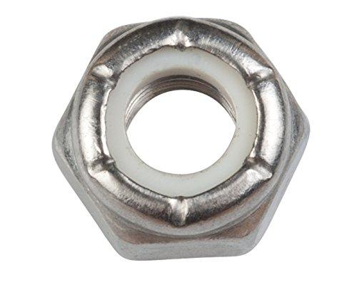 Sierra International 18-3722-9 Marine Stainless Steel Locknut - Pack of -