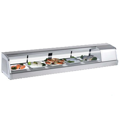 Turbo Sakura-70-R Refrigerated Sushi Display Case, Compressor on Right from Fron ()