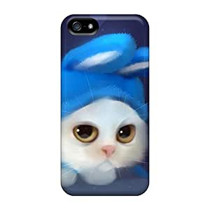 Tpu Case Cover Compatible For Iphone 5/5s/ Hot Case/ Team Bunny