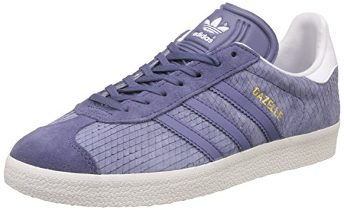 Adidas Originali Da Donna Originali Gazelle Scarpe Da Ginnastica Super Us9 Viola