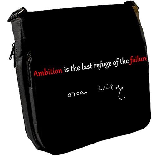 Ambition Is The - Borsa A Spalla Unisex Oscar Wild