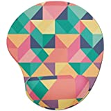 Mousepad ergonômico gota colorido