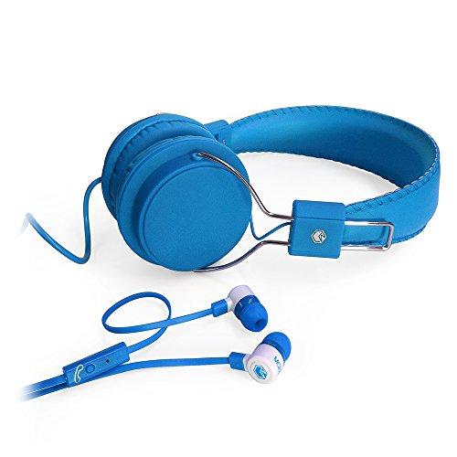 MQbix MQHT470BLU Performance Earphones Headphones product image
