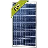 Newpowa 30w Watts 12v Poly Solar Panel Module Rv Marine Boat Off Grid