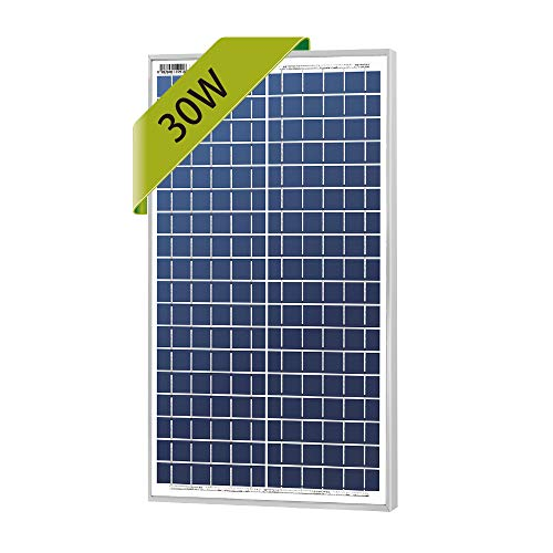 (Newpowa 30w Watts 12v Poly Solar Panel Module Rv Marine Boat Off Grid)