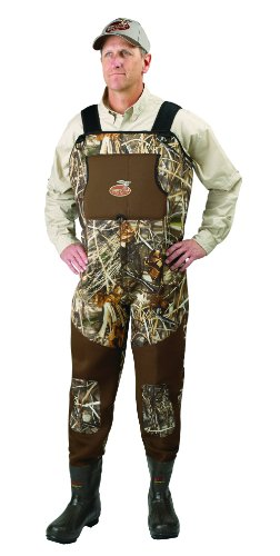 Waterfowl Wading Systems Max-5 Neoprene Bootfoot Wader, 8 Stout