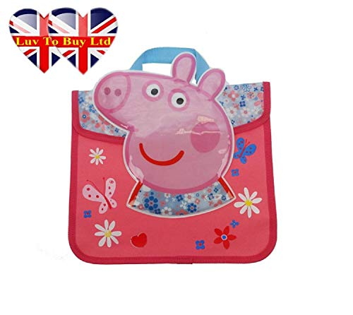 Peppa Pig Home Sweet Home MARGUERITES Sac à livres
