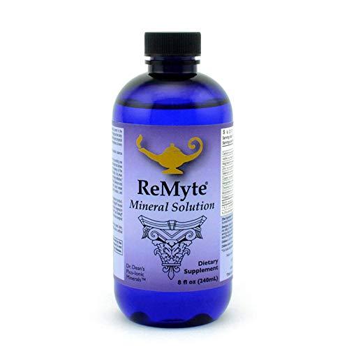 RnA ReSet – ReMyte Mineral Solution, Liquid Multi Mineral, Electrolyte Solution, 12 Minerals Including Iodine, Selenium…