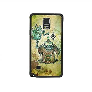 CaseCityLiu - Ancient Chinese Zombie Myth 3D Design Black Bumper Plastic+TPU Case Cover for Samsung Galaxy Note4