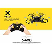 DZT1968 Q2 Mini 6 Axis Gyro 4-Axis 2.4Ghz 0.3MP HD Camera G-sensor Wifi Headless Mode Altitude Hold Drone 3D Flip RC UAV