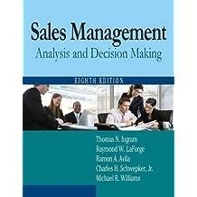 [(Sales Management: Analysis and Decision Making )] [Author: Thomas N. Ingram] [Mar-2012]
