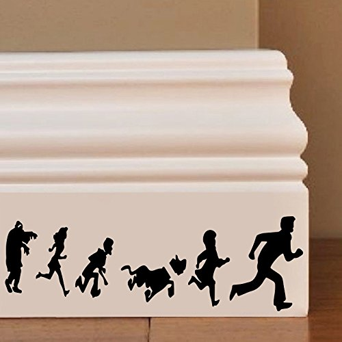 Scooby Doo Cartoon Wall Art Autocollant Decal Mice Home Skirting Board Drôle by Inspired Walls® Inspired Walls®