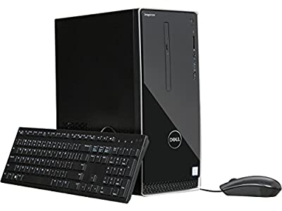 2018 Newest Flagship Dell Inspiron 3668 High Performance Desktop -Intel Quad-Core i5-7400 Up to 3.5GHz 16GB DDR4 256G SSD + 1TB HDD DVDRW Bluetooth HDMI 802.11bgn MaxxAudio MultiCard Reader Windows 10