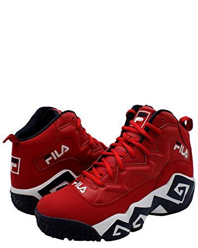Fila Men's MB Shoes (10.5, Red/Navy/White) (Fila Weather Tech)