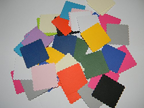 100 mixed colored paper postage stamps confetti hand punched die cuts wedding, scrapbooking party supplies