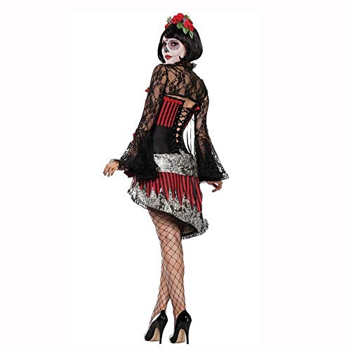 Fashion-Cos1 Women Girls Sexy Spider Witch Queen Costume Halloween Ghost Bride Vampire Witch Costume Party Uniform]()