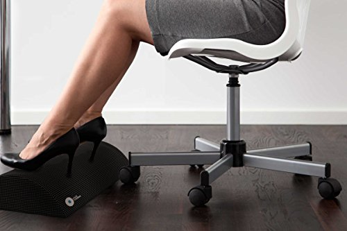 foot rest under desk non slip ergonomic foam cushion