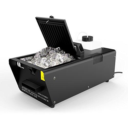 1byone Low Lying Fog Machine 400 Watt with Wired Remote ...