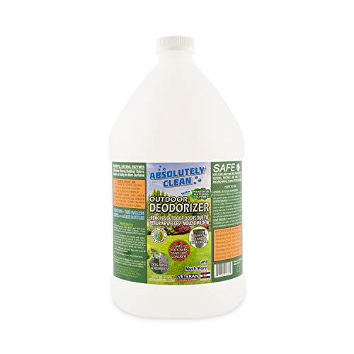 Amazing Outdoor/Yard Deodorizer - Just Spray & Walk Away - Pet Waste & Outdoor Odors - Works on Grass, AstroTurf, Decks, Fences, Dog Runs & More  - Prevents Lawn Yellowing - USA Made - Vet Approved