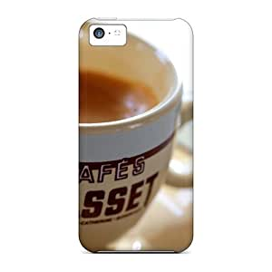 NikRun Snap On Hard Case Cover Brown Coffee Protector For Iphone 5c hjbrhga1544