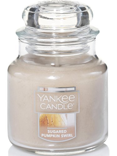 (Yankee Candle Sugared Pumpkin Swirl Small Jar Candle, Food & Spice)
