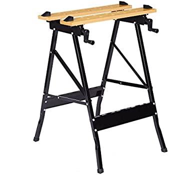 Hideahorse Folding Sawhorse 2 Pack Lightweight Sturdy