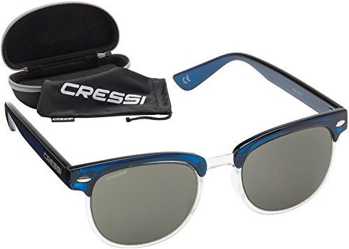 para UV Oscuro Gafas hombre anti cristales Gris Rocker polarizados Cressi Lente Azul polarizadas desol 100 qI6wx1nvg