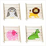 Personalized 3 Sprouts Book Rack – Pick From the designs available