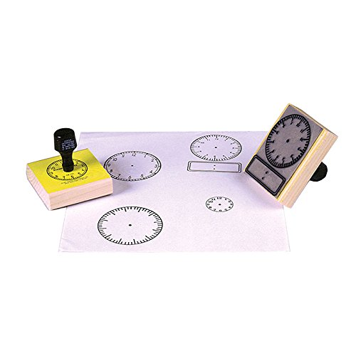CENTER ENTERPRISES INC. STAMP DIGITAL CLOCK 2-1/2 X 3-1/2 (Set of 6)