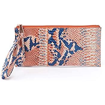 27c79801f4 Hobo Womens Leather Vintage Vida Clutch Wallet (Adobe Snake ...