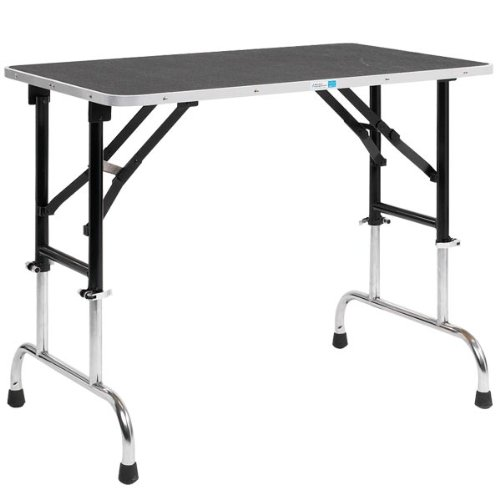 Master Equipment Adjustable Height Grooming Table, 42 by 24-Inch by Master Equipment