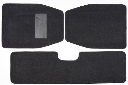 Luxury Driver 44035 SUV Charcoal Carpet Floor Mat Set - 3 Piece