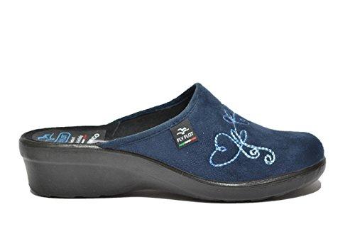 Fly Flot Ciabatte comfort donna blu anatomiche 36717