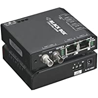 Black Box 3-Port Industrial 10/100 Ethernet Switch Hardened Temperature