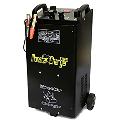 55 Amp Portable 12 / 24 Volt Automatic Car Truck Battery Charger W Starter New
