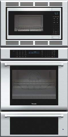 Thermador MEDMCW31JP Triple Oven Masterpiece Oven plus Convection Microwave44; Warming Drawer44; 30 in. Pro Handle (Renewed)