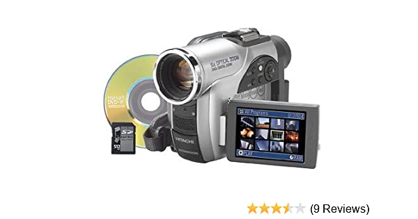 amazon com hitachi dz mv730a dvd camcorder w 16x optical zoom rh amazon com Hitachi Manuals Television Hitachi StarBoard Manual