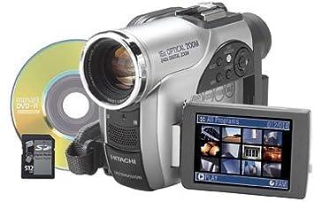 hitachi video camera. hitachi dz-mv730a dvd camcorder w/16x optical zoom (discontinued by manufacturer) video camera i
