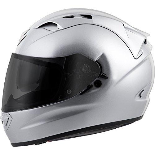 Scorpion EXO-T1200 Solid Street Motorcycle Helmet (Silver, X-Large)