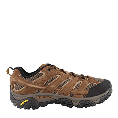 Merrell Men's, Moab 2 Vent Hiking Shoes - Wide Width Earth 8 W (Width Hiking Wide Shoes)