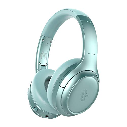 TaoTronics Active Noise Cancelling Headphones [2019 Upgrade] Bluetooth Headphones SoundSurge 60 Over Ear Headphones Sound Deep Bass, Quick Charge, 30 Hours Playtime for Travel Work TV PC Cellphone (Best Wireless Noise Cancelling Headphones 2019)