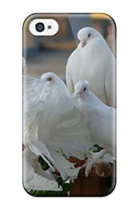 Kevin Charlie Albright's Shop 9842311K71517316 Premium Case With Scratch-resistant/ Bird Case Cover For Iphone 4/4s