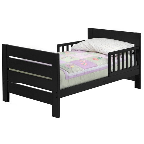 DaVinci Sleigh Toddler Bed - Ebony - Da Vinci Sleigh Toddler Bed