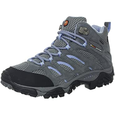 Merrell Women's Moab Mid Waterproof Hiking Boot (4 Color Options)