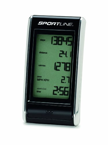 Sportline 308 Snapshot Pedometer- Designed Compact And Pocket-size to Count Steps Taken (Compact Pedometer)
