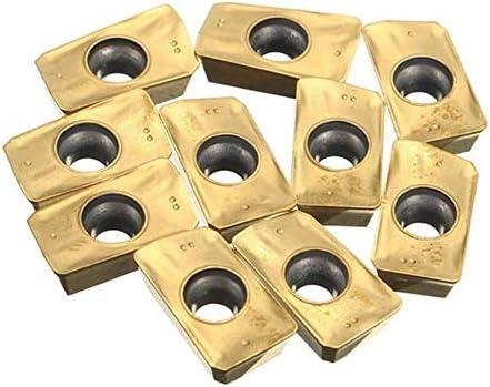 XY-YZGF 10pcs Carbide Cutter Drehen Toolr APMT1135PDER-BP010 Einsätze Blades Drehwerk Boring Einsätze