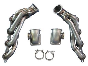 cxracing Twin Turbo T4 colector para 04 - 06 Pontiac GTO LS1 LS2 Motor na-t: Amazon.es: Coche y moto