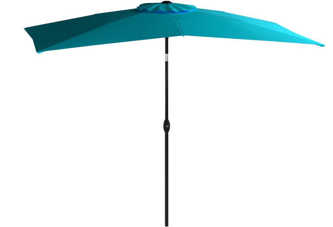 Abba Patio Rectangular Patio Umbrella Outdoor Market Table Umbrella
