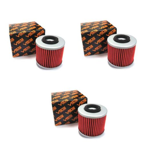 Volar Oil Filter - (3 pieces) for 1998-2010 Yamaha V Star 650 XVS650A Classic