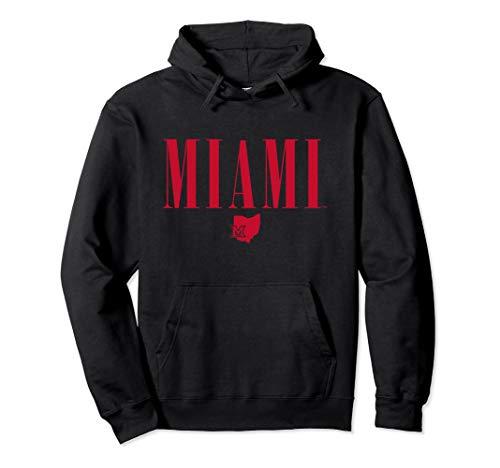 - Miami University MU RedHawks NCAA Hoodie CK3DL01